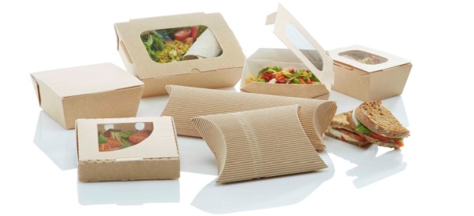 Bio-imballaggi cellulosa carta cartone food